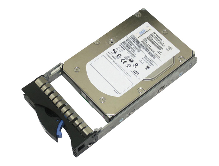 "STORAGE HDD FC 146GB IBM 2GB 15K 3.5"" 23R2235 W/TRAY - Φωτογραφία"