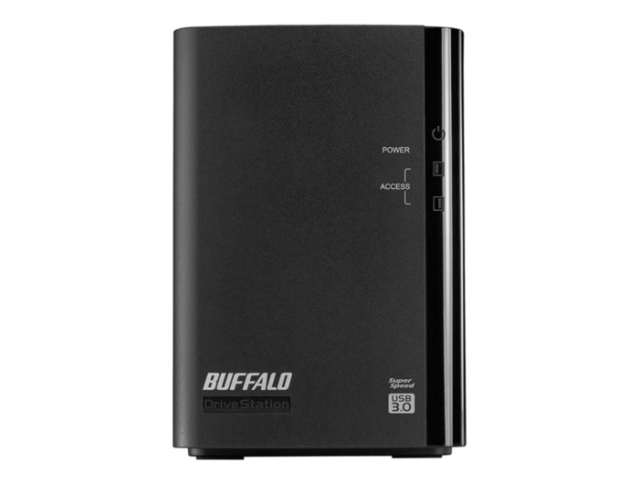 EXTERNAL HDD BUFFALO EMPTY CASE USB-3.0 W/PSU