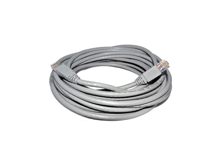 PATCH CORD UTP 11M CAT5 GRAY