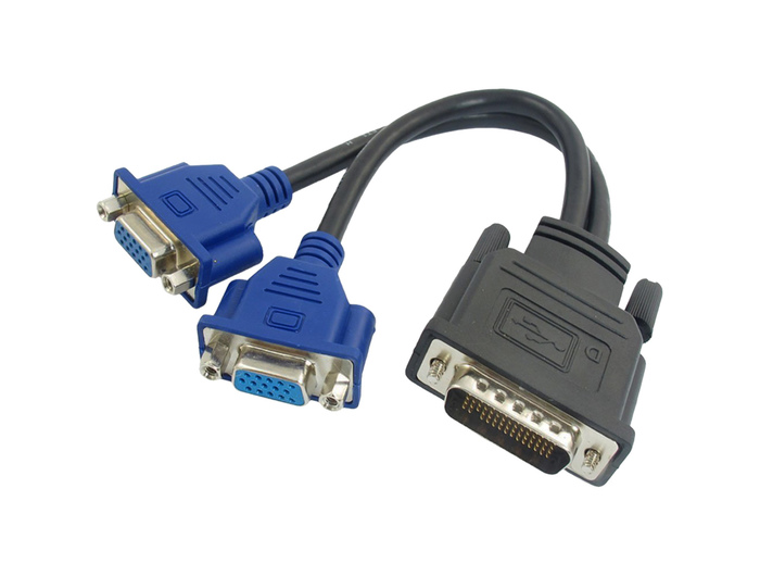 ADAPTER DMS59 TO 2 VGA
