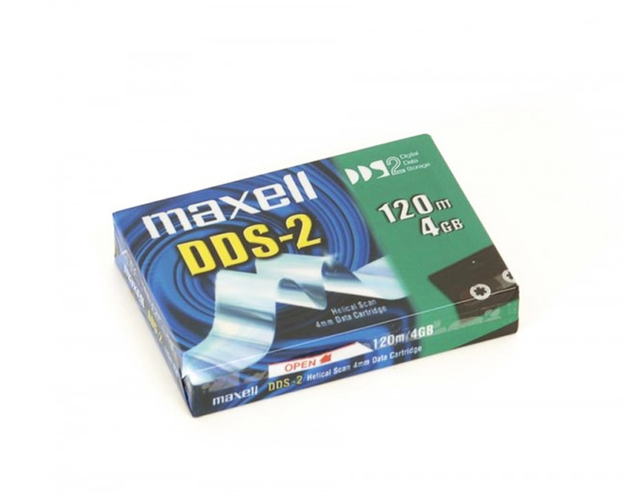DATA CARTRIDGE MAXELL 4GB - MAXELL DDS-2 NEW