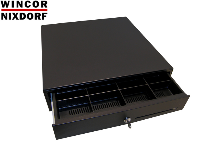 POS CASH DRAWER WINCOR D6 BLACK NEW RJ12