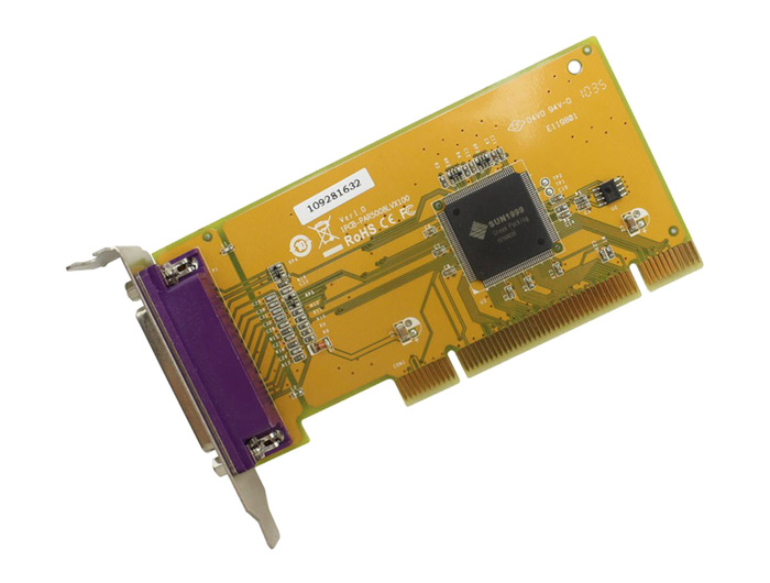 CONTROLLER CARD PARALLEL LENOVO PCI LP