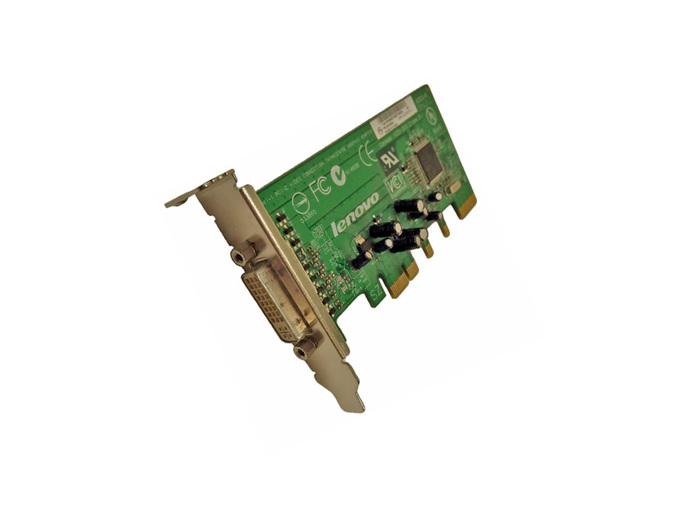 VGA 128MB LENOVO VIDEO THINKCENTER ADAPTER PCI-E x16 LP