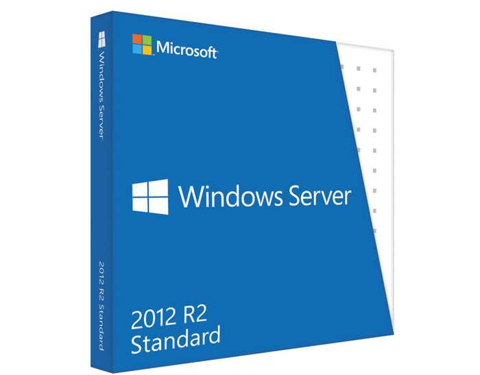 WINDOWS SERVER STANDARD 2012 R2 x64 ENG 1PK DSP OEI DVD 2CPU