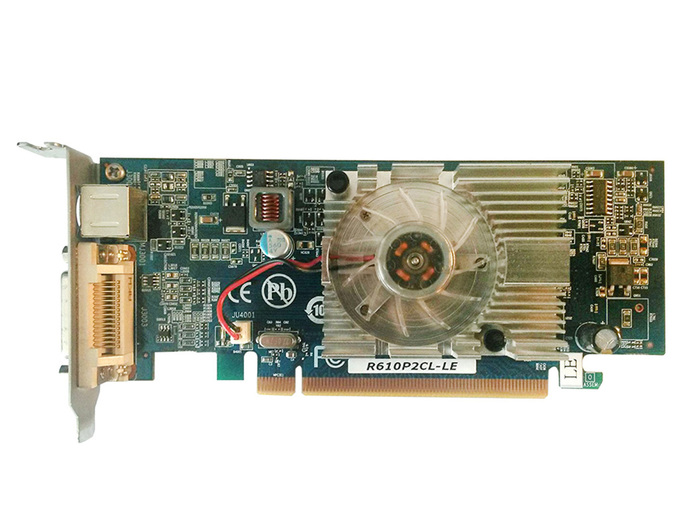 VGA 256MB ATI MSI HD2400 DMS-59/SVIDEO PCI-EX LP