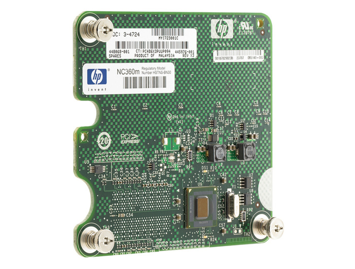 HP NC630M DUAL PORT 1GB MEZZANINE CARD