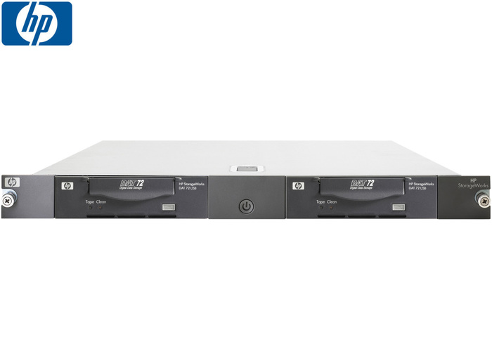 TAPE DRIVE ENC 1U HP STORAGEWORKS WITH 2x DAT 72GB USB
