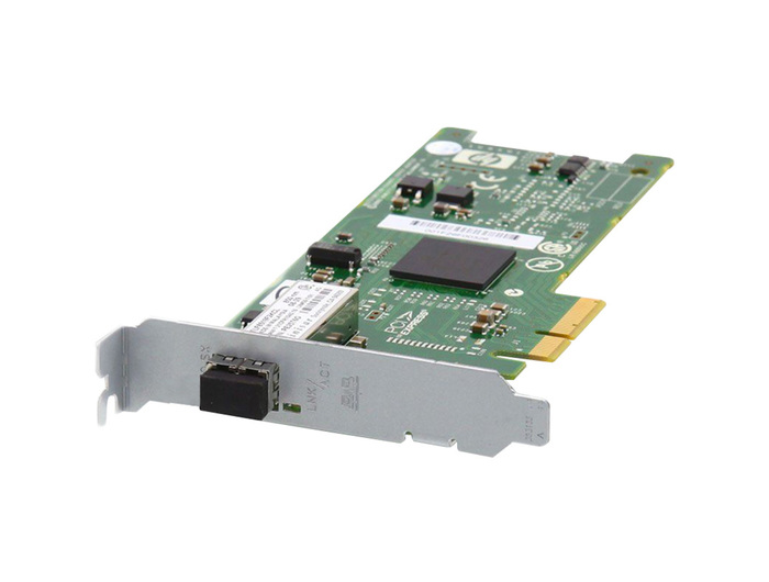 NIC SRV 1GB HP NC373F FIBER ETHERNET SINGLE PORT PCIE LP