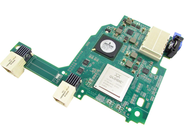 BLADE HBA FC 8GB IBM QMI3572 FIBER CHANNEL MEZZANINE CARD