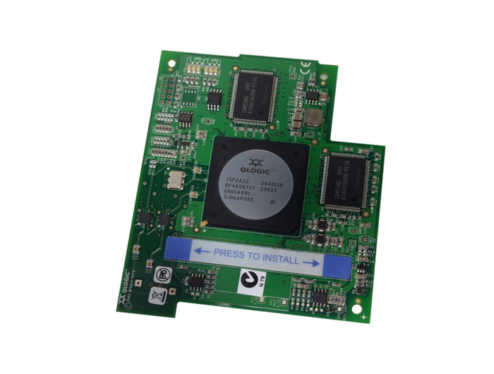 BLADE HBA FC 4GB IBM QMC2462S FIBER CHANNEL MEZZANINE CARD