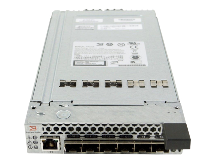 BLADE SWITCH FC 6x 4GB DELL PE 1855 1955 BROCADE SW4016
