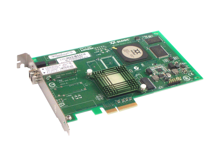 HBA FC 4GB IBM QLE2360 FIBER CHANNEL SINGLE PORT PCI-E FP