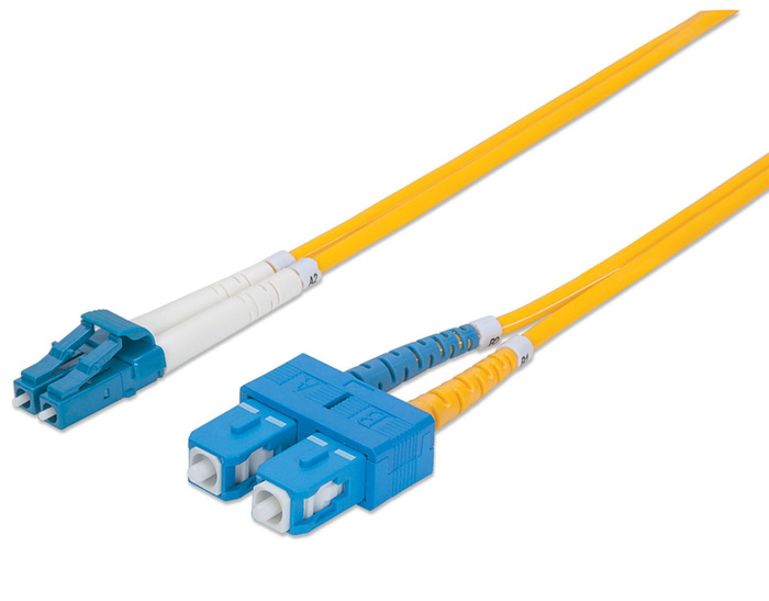 FIBER OPTICAL PATCH CORD LC-SC DUPLEX LSZH 6.1M