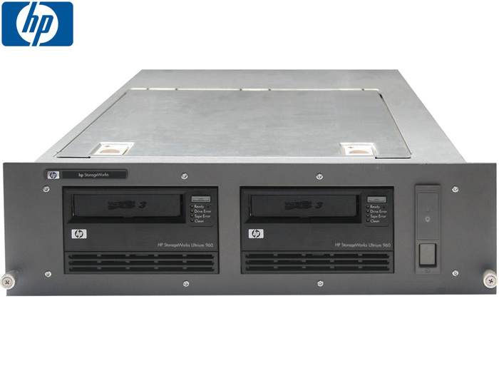 TAPE DRIVE Enclosure 3U With 2x HP Ultrium 960 LTO3 SCSI