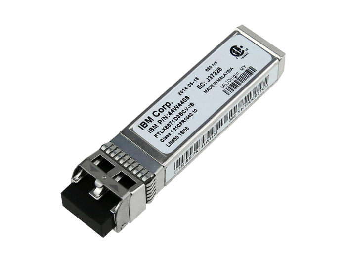 ETH IBM 10 GIGABIT 44W4408 ETHERNET SW SFP+ TRANSCEIVER NEW - Φωτογραφία