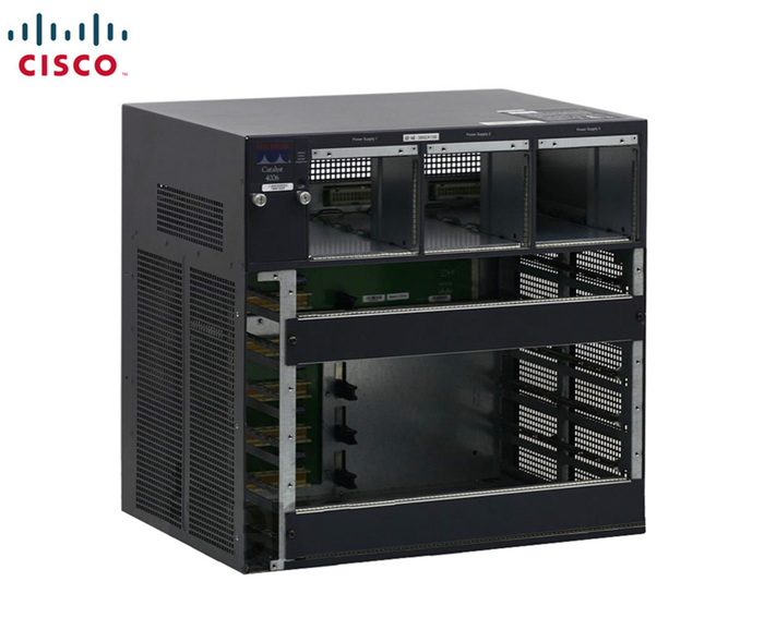 SWITCH ETH CHASSIS CISCO CATALYST  4000 /6 slots - WS-C4006