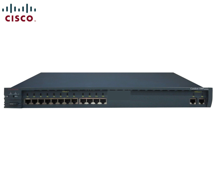 SWITCH ETH 12P 12x10MB & 2x100MB CISCO C1912