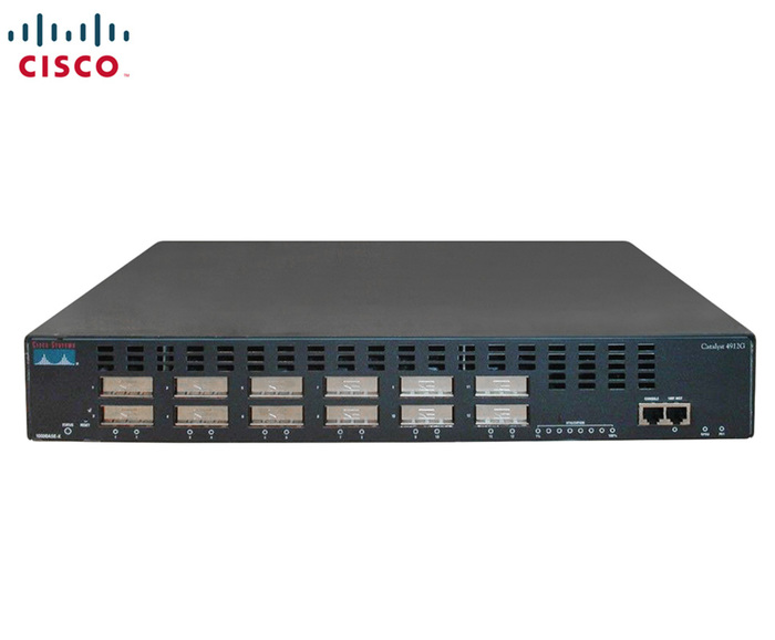 SWITCH 12P 1GBE 12xGBIC CISCO CATALYST 4912G