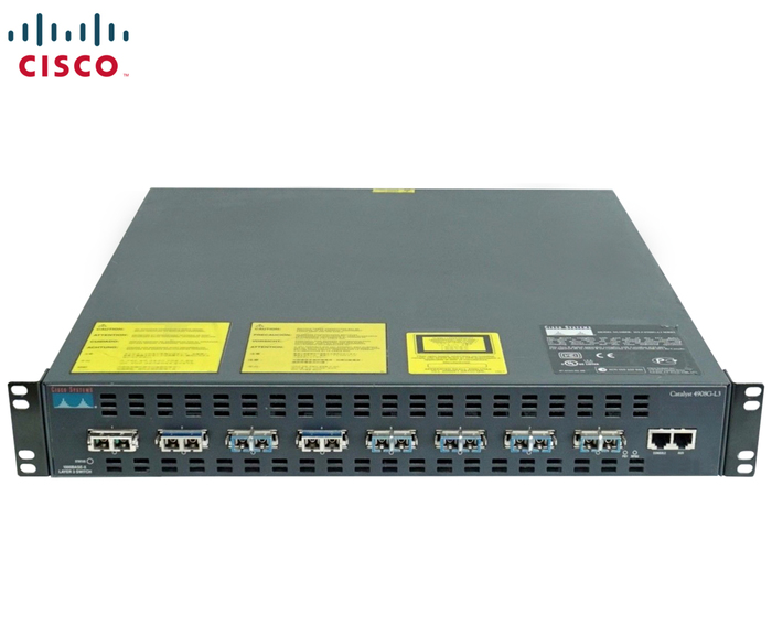 SWITCH 8P 1GBE OPTICAL 8xGBIC CISCO CATALYST C4908G-L3