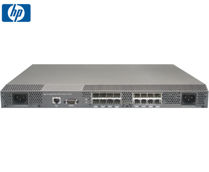 SWITCH FC 16P 2GB HP STORAGEWORKS 2/16v w16 SFP300384-B21 - Φωτογραφία