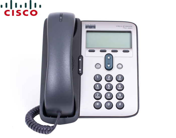IP PHONE CISCO UNIFIED CP-7912G GB SCEEN