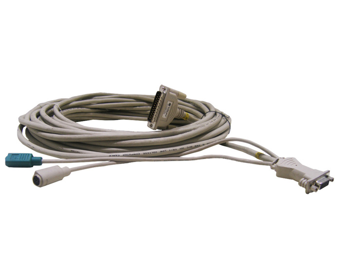 CABLE KVM BLACKBOX PS/2/VGA FEMALE TO SERIAL 25-PIN 15M - Φωτογραφία