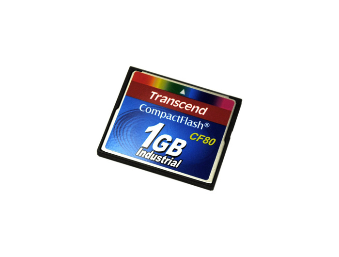 TRANSCEND COMPACT FLASH MEMORY 1GB - FTS1GCF80