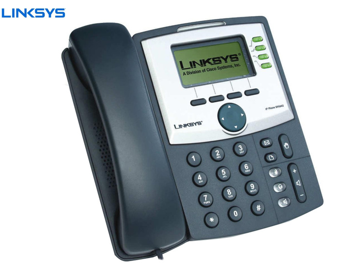 IP PHONE LINKSYS SPA942 GB SCREEN