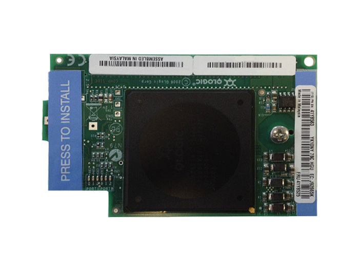 BLADE HBA FC 4GB IBM QLOGIC FIBER CHANNEL MEZZAZINE CARD