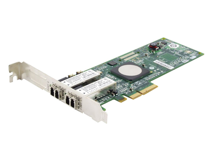 HBA FC 4GB HP EMULEX FIBER CHANNEL DUAL PORT PCI-E