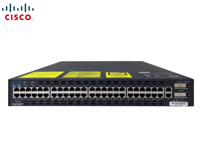 SWITCH ETH 48P 100MB CISCO CAT C2948G 2xGBIC L3