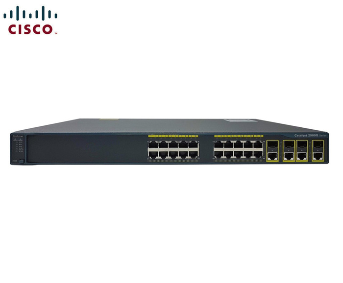 SWITCH ETH 24P 1GB CISCO C2960G 4X COMBO SFP/GBE