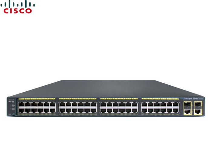 SWITCH ETH 48P 10/100 CISCO C2960 POE 2xSFP 2X1000BT