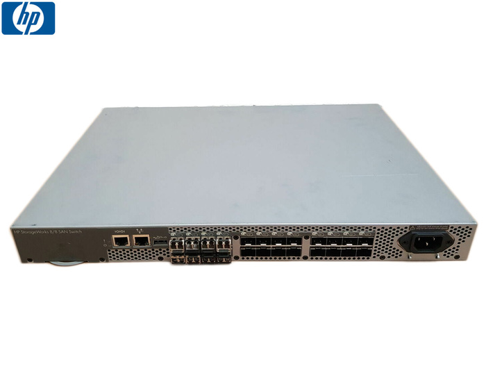 SWITCH FC 24P 8GB HP STORAGEWORKS 8/8 SAN SWITCH RAILS - Φωτογραφία
