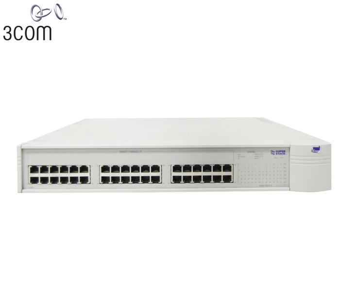 SWITCH ETH 36P 100MB & 1P 1GBE 3COM SUPERSTACK II 3900