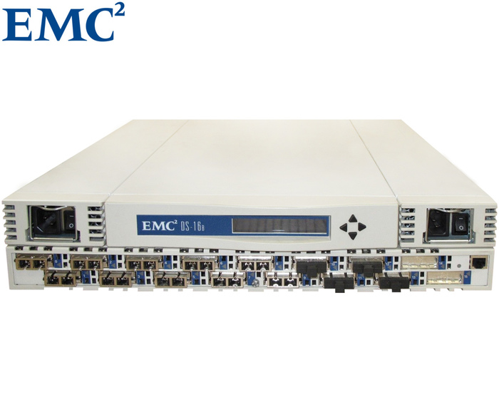 SWITCH FC 16P 1GB EMC DS-16B CHASSIS RACK