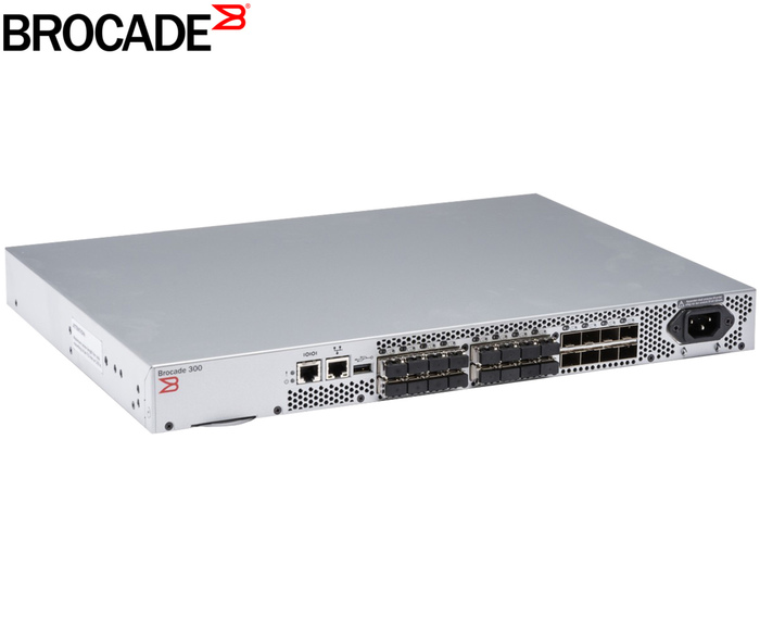 SWITCH FC 24P 8GB BROCADE 300 BR-320-0008 - Φωτογραφία