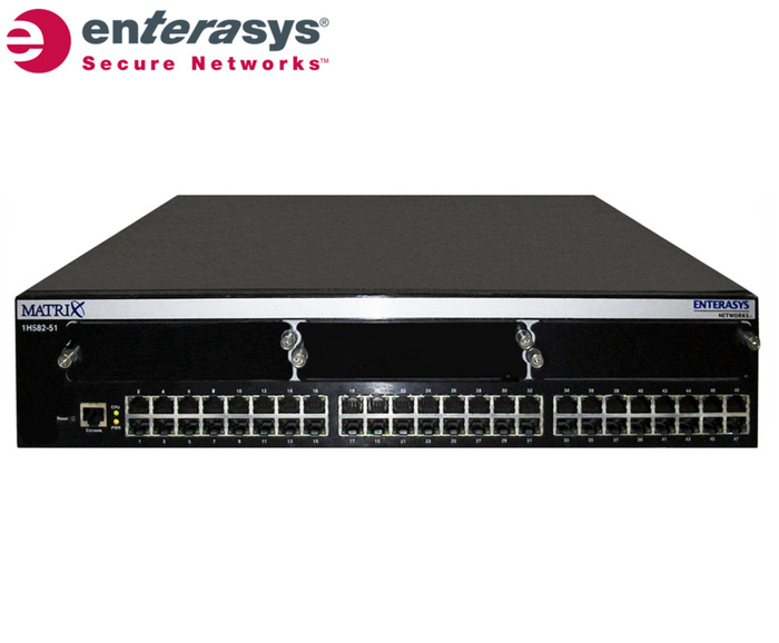 SWITCH ETH 48P 100MB ENTERASYS MATRIX E1 1xPSUOFF
