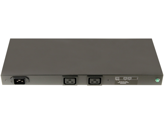 PDU 2-OUTLETS HP 228481-006, 2XC19, 200-240V, 1PH, 16A, 1U - Φωτογραφία
