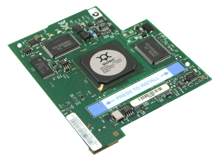 BLADE HBA FC 2GB IBM QLOGIC FIBER CHANNEL MEZZANINE CARD