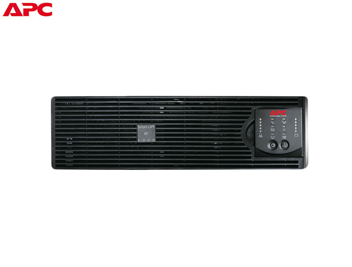 UPS 6000VA APC SMART-UPS RT6000 RACK ON-LINE 3U BLACK