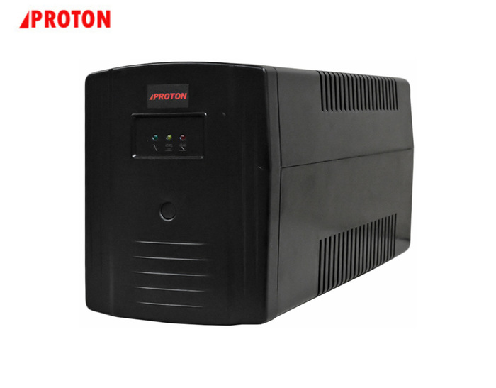 UPS 1200VA PROTON LED1200A LINE INTERACTIVE TOWER BLACK NEW