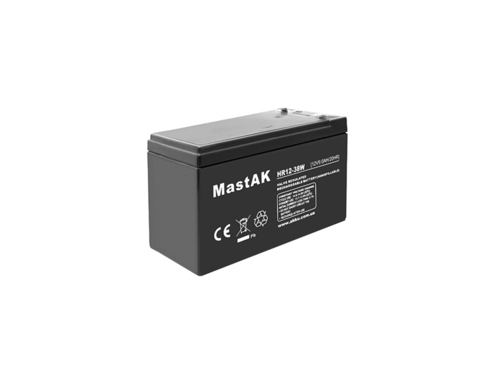 BATTERY VRLA RECHARGABLE HRD-SLA 12V-9AH FOR UPS NEW