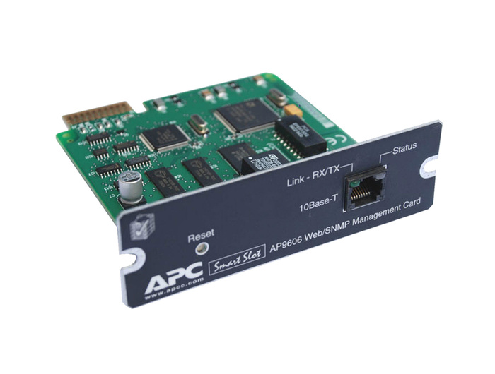 UPS APC NETWORK MANAGEMENT CONTROLLER AP9606