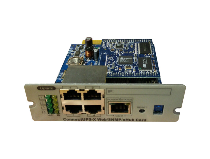 CONNECTUPS-X WEB/SNMP/XHUB WEB SNMP CARD UPS -116750220-001