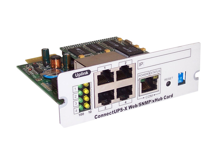UPS MANAGEMENT CARD Powerware ConnectUPS-X Web/SNMP Card