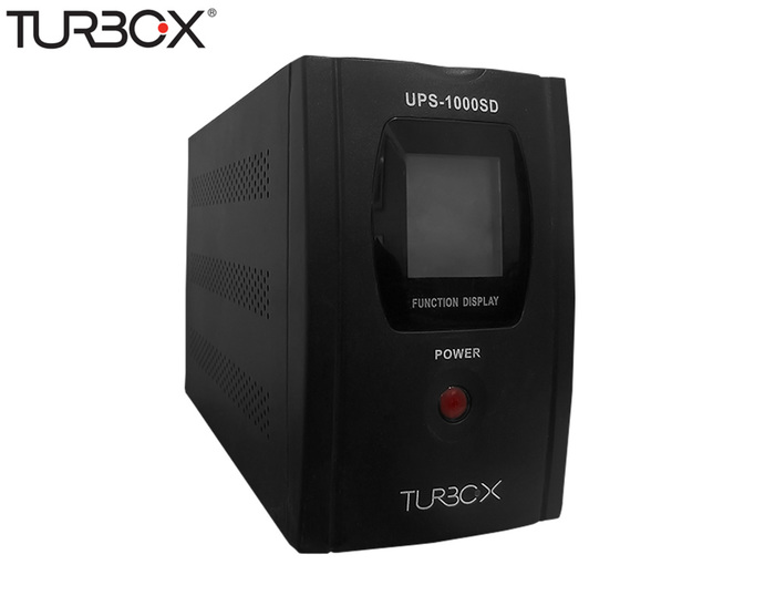 UPS 1000VA TURBO-X LI.INTERACTIVE TOWER BLACK NEW BATTERY