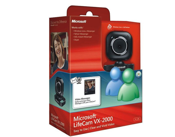 WEBCAM MICROSOFT LIFECAM VX-2000 NEW