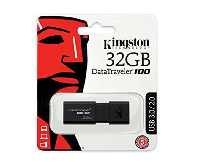 USB FLASH KINGSTON 32GB USB 3.0 NEW
